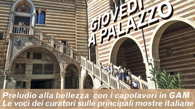 Giovedi a Palazzo. Conversazioni, storie ed incanti dell'arte